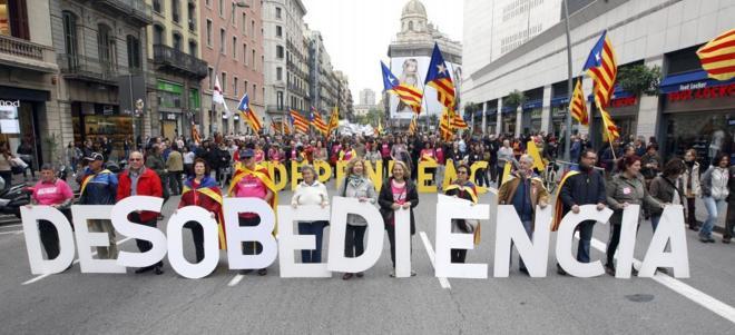 Sense desobediència no hi ha independència
