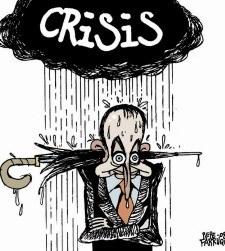 Zapatero krisiak ito duela dirudi