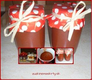 domáci paradajkový kečup