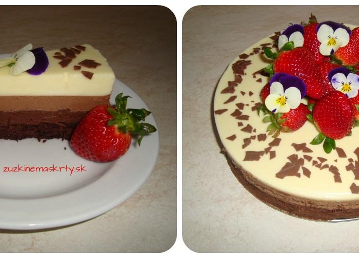 Torta TRIO čokoláda