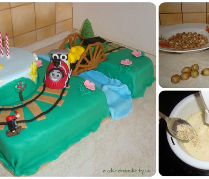 Nugátovo-liesková torta