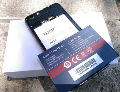 CUBOT NOTE S 3