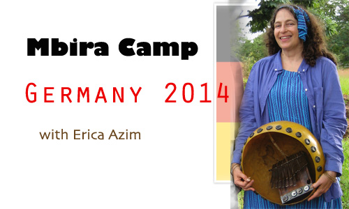 Erica Azim, Mbira Camp Germany