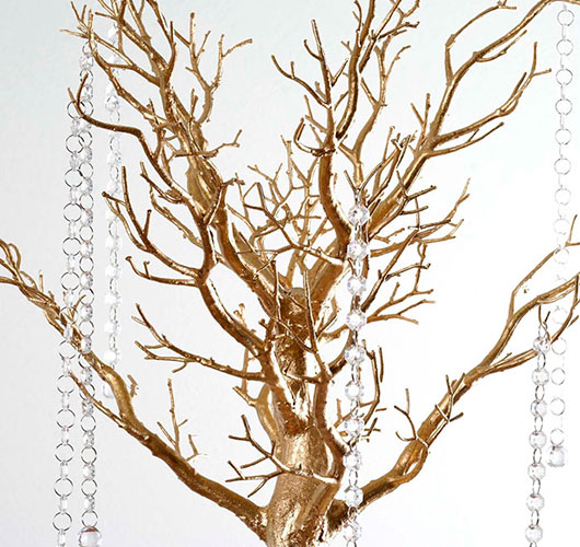 The photo shows - DIY Christmas decorations, fig. Miracle tree 2