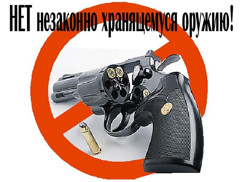 Профилактическое мероприятие «Оружие» проводится в регионе