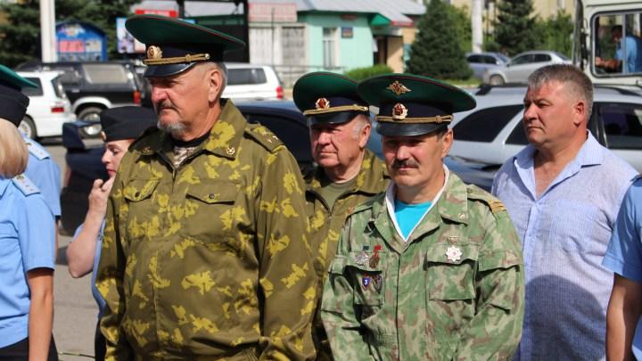 13 июля в Горно-Алтайске прошел День памяти об «огненной заставе»