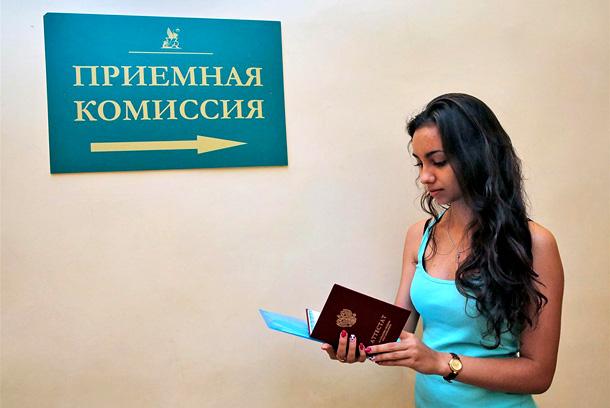 В России стартовала вступительная кампания в вузы