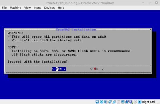 Varovanie o zmazaní dát na disku