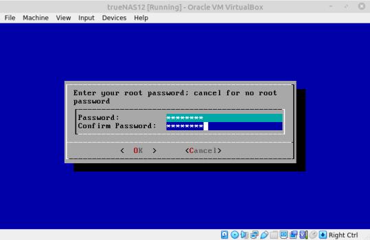 Heslo pre užívateľa root