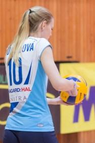 Nikola Stümpelová - Volley project UKF Nitra