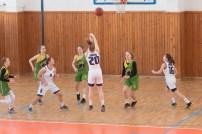 basketbalový zápas junioriek vo Zvolene