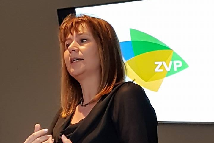 Marina Seurs versterkt ZVP