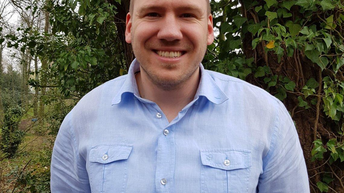 Groen kandidaat Sven Vanhengel op de ZVP- lijst