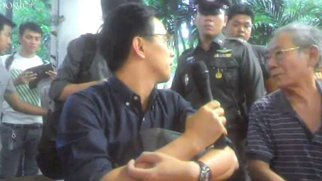 Prajak-Kongkirati-and-Nidhi-Eeseewong-arrested-by-junta