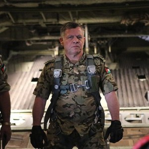 Jordan's King Abdullah , a trained pilot, could lead revenge airstrikes on Islamic State himself