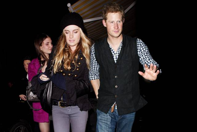 1-Prince Harry and Cressida Bonas