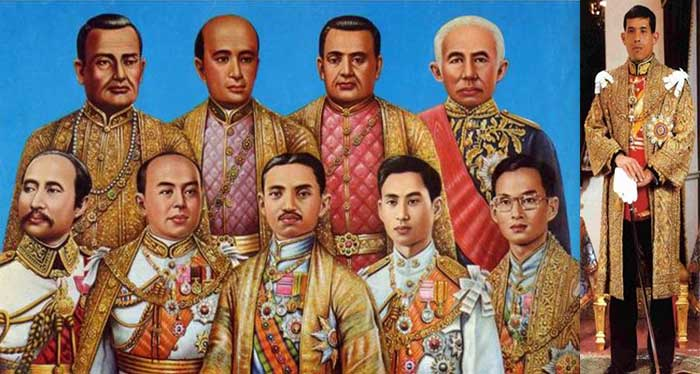 Chakri Kings Of Thailand