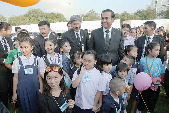 Children's Day in Thailand - Prayuth