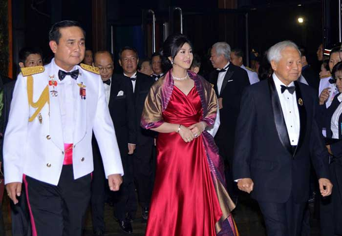 Yingluck with the Back Stabbers