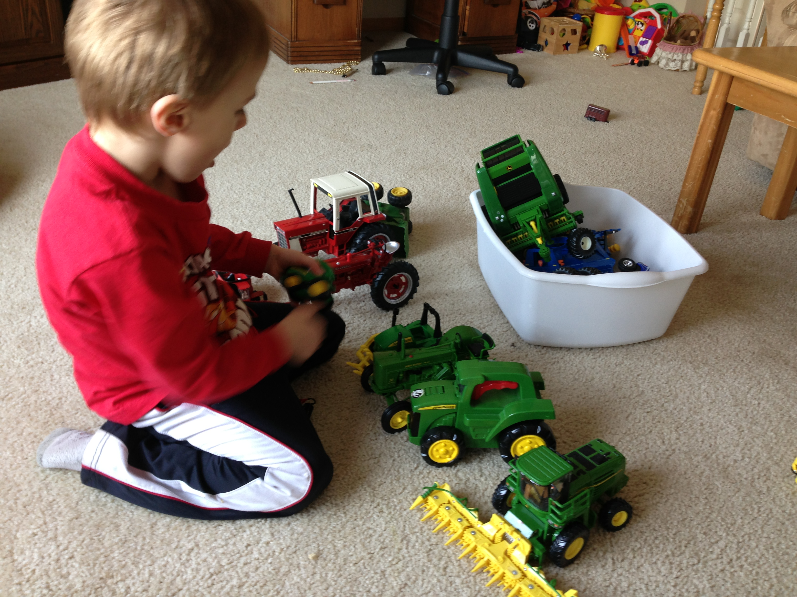 Farm Lesson Activities Tractors