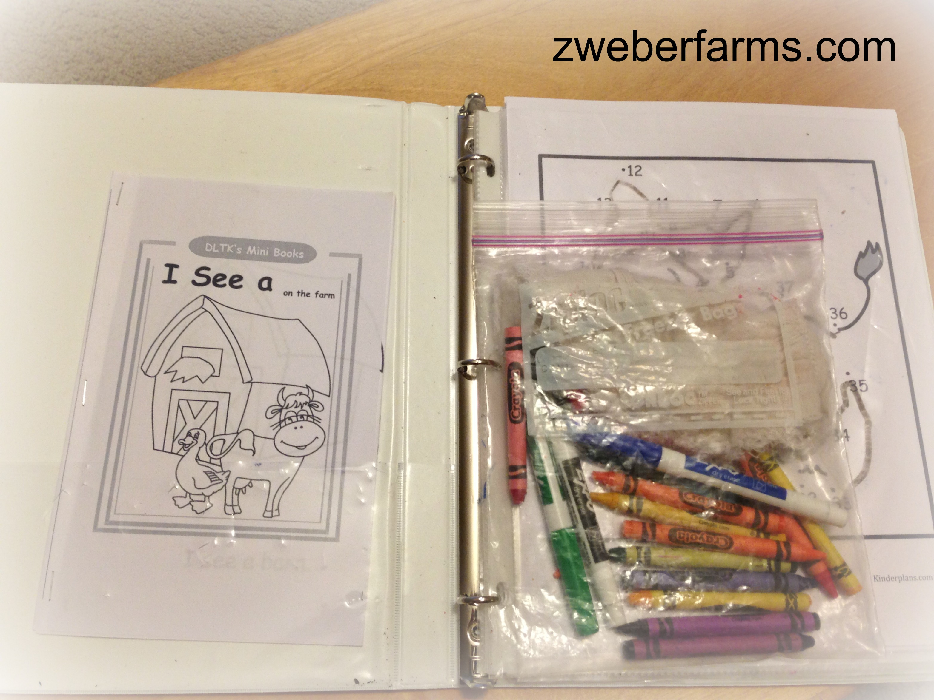 Farm Themed Worksheets