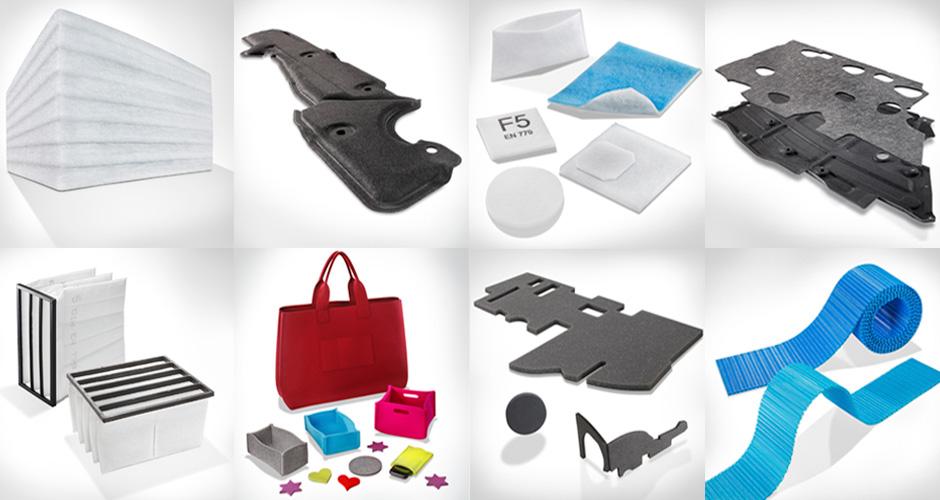 Fotografie von unterschiedlichen Produkten
