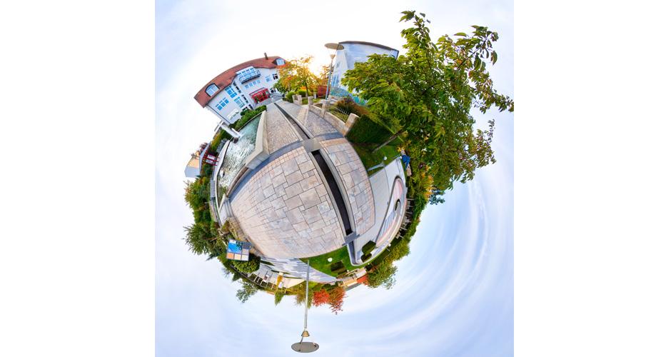 Architekturfoto Little Planet