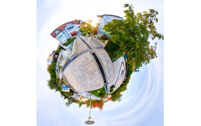 Architekturfoto Little Planet