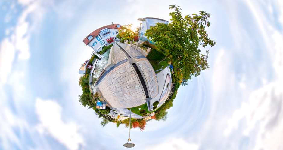 Panoramafotografie Little Planet Amberg