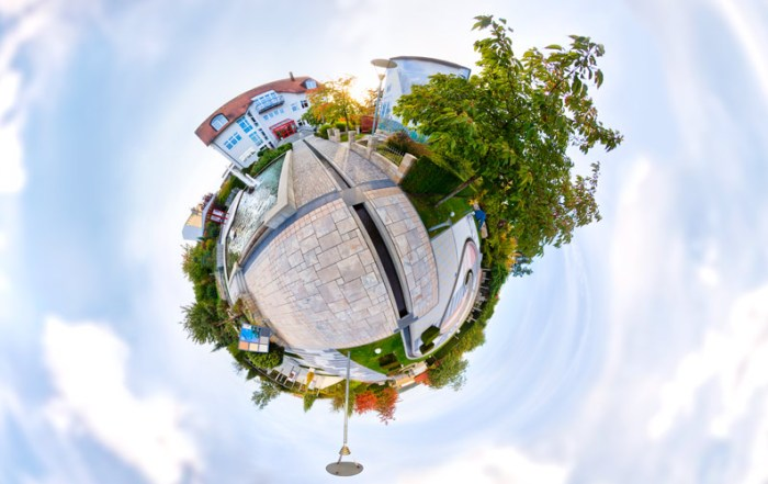 Panoramafotografie Little Planet Amberg