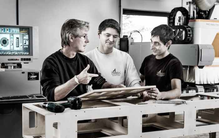 Industriefoto CNC-Fräse