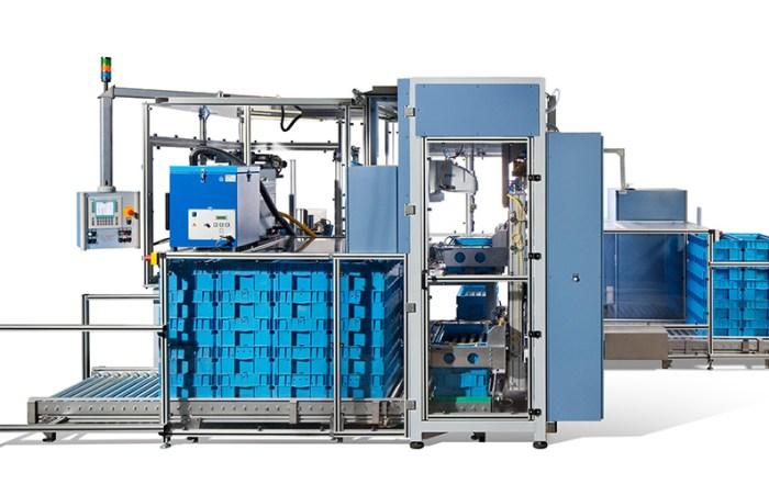 Industriefotografie Verpackungsmaschine