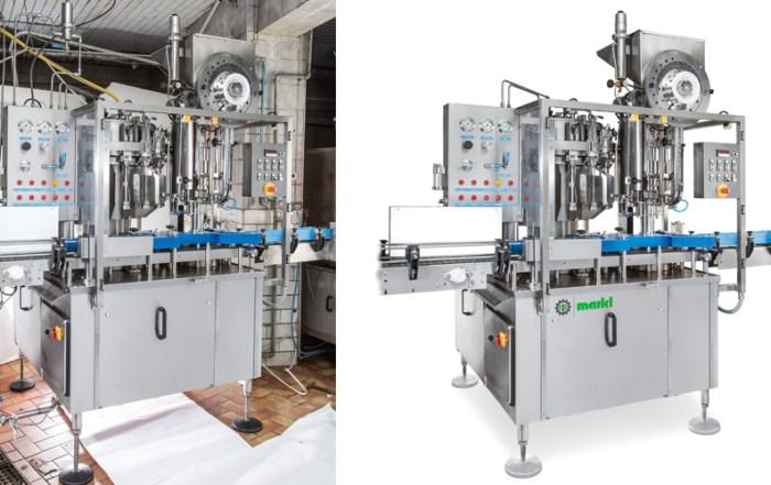Postproduktion Brauereimaschine