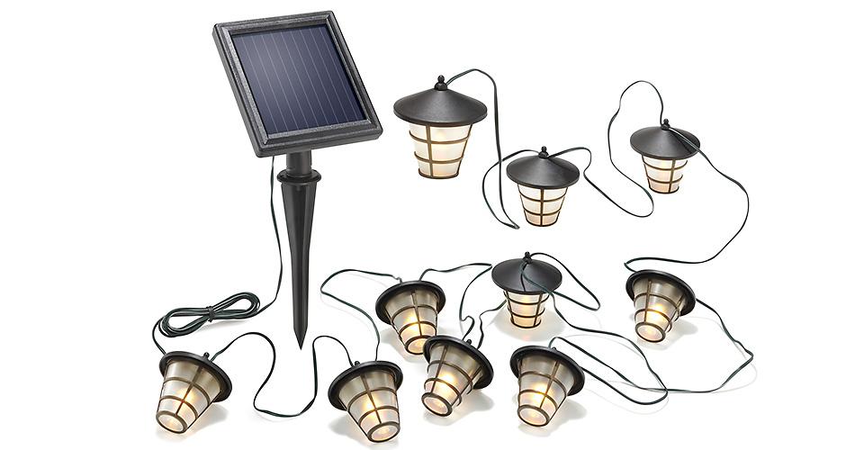 Produktfotografie im Studio LED-Laternenkette