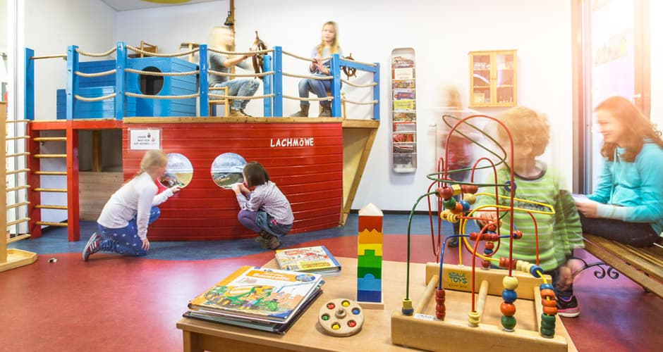 Kinderarzt-Wartezimmer von zweckdesign