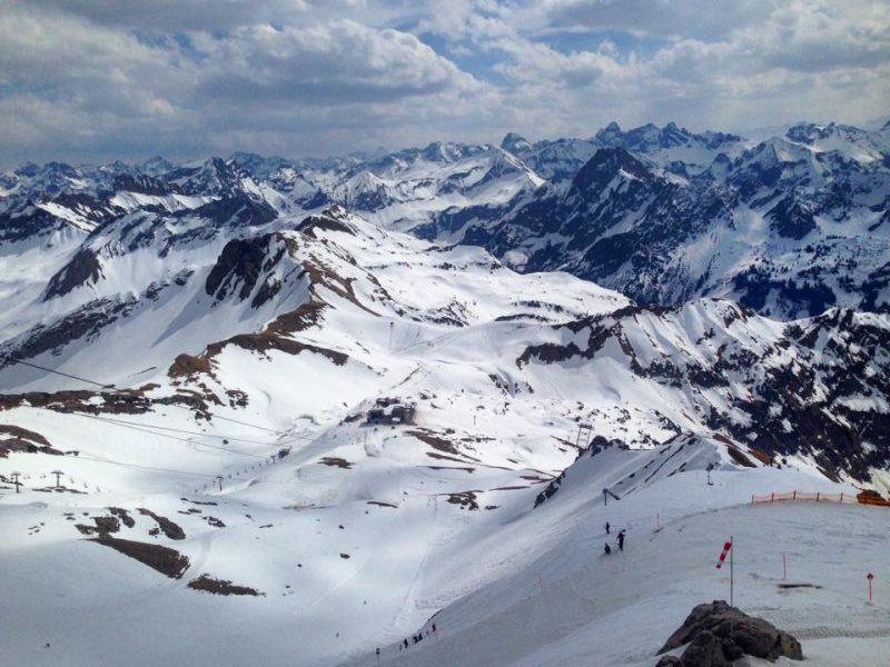 Nebelhorn - mega Aussicht.