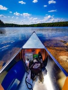 Kanutour Schweden: Unser Kanu