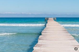 Bucht von Alcudia - Steg
