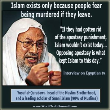 yusuf-al-qaradawi-apostasy-punishment-death