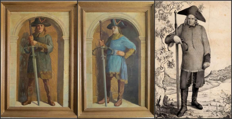 spade cerimoniai_schlachtschwertierer XVIII-XIX secolo