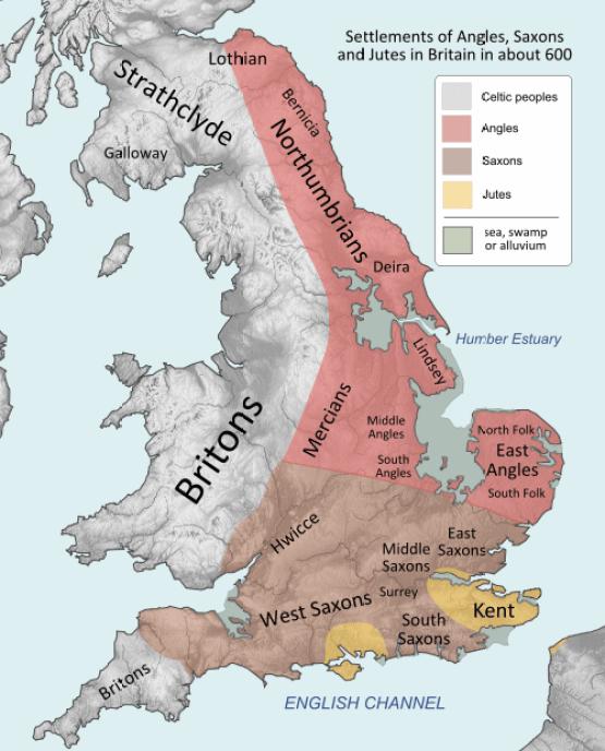 mappa VI secolo
