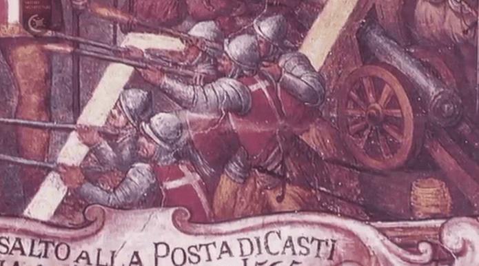 siege malta 1565 posta di castiglia