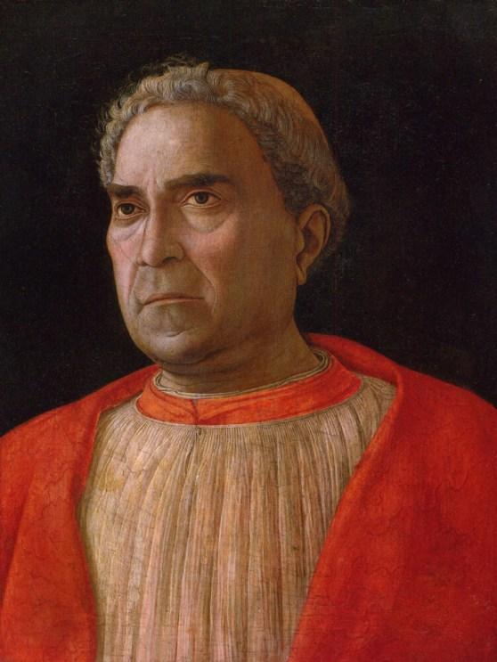 Il Cardinale Trevisan dipinto dal Mantegna.