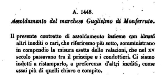 Storia delle compagnie di ventura in Italia