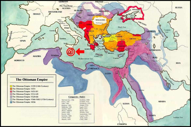fine dell'impero ottomano