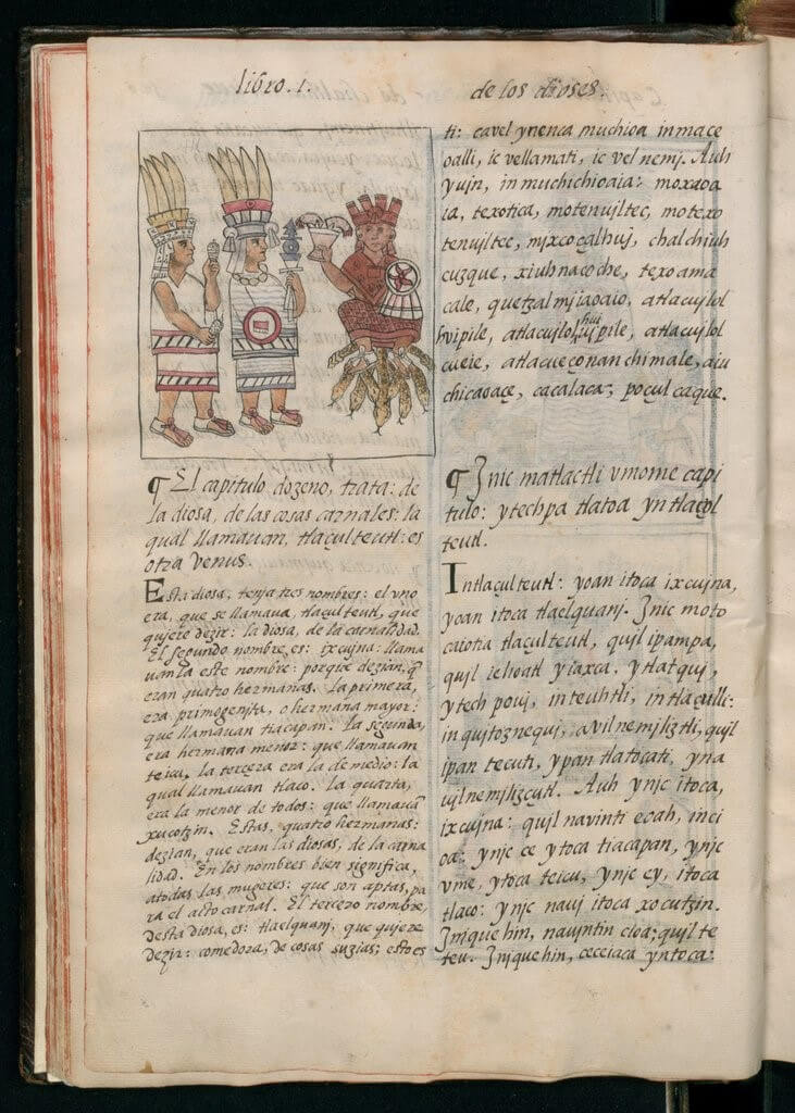 manoscritto azteco