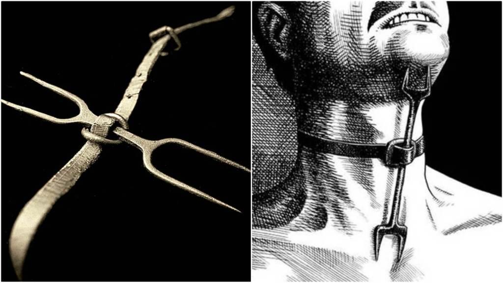 strumenti di tortura forcella dell'eretico