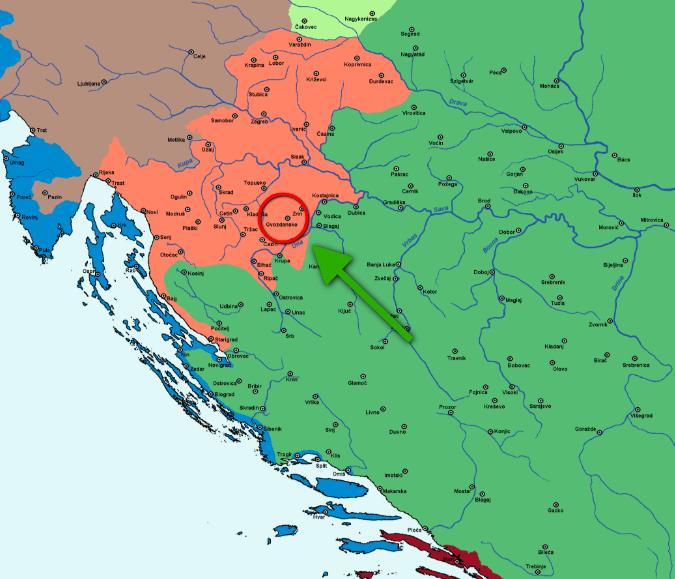 croatia 1500 assedio di Gvozdansko