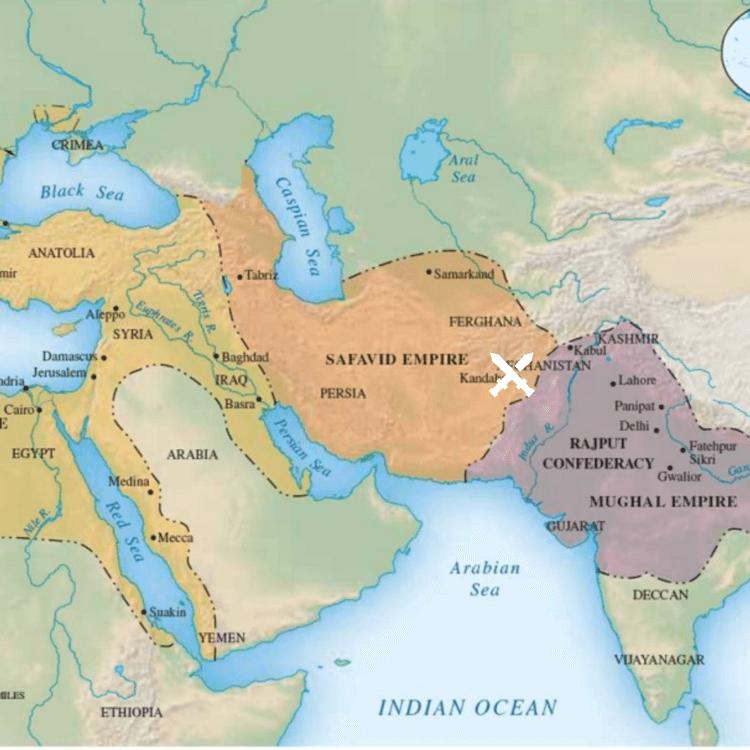 kandahar mughal safavid