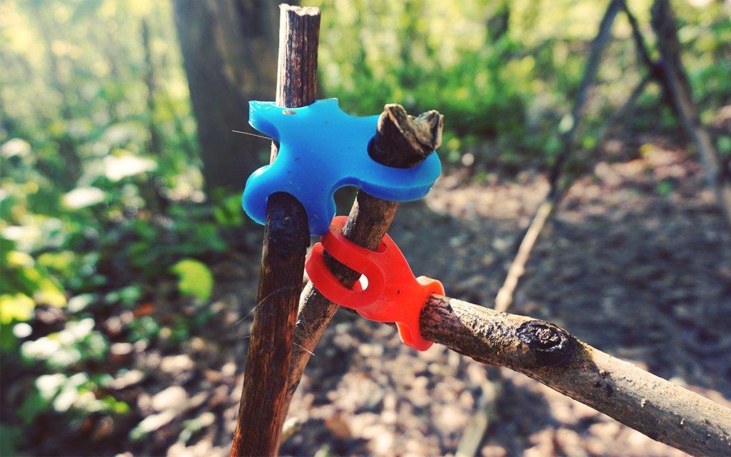 Waldspiele für Kinder ab 3 Jahren mit Stick-lets